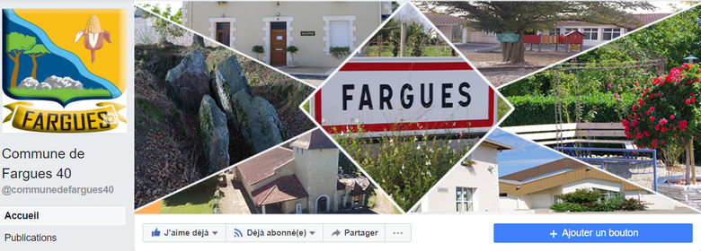 Commune de Fargues 40 sur Facebook